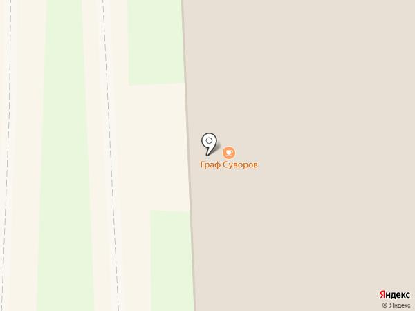 Суздальская трапеза на карте Суздаля