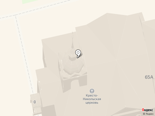 Кресто-Никольская церковь на карте Суздаля