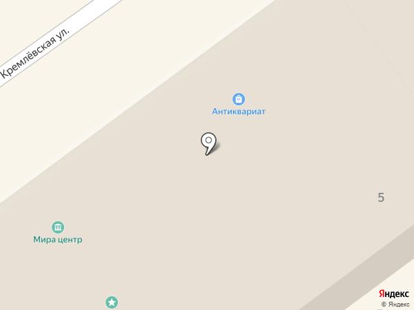 Погребок на карте Суздаля