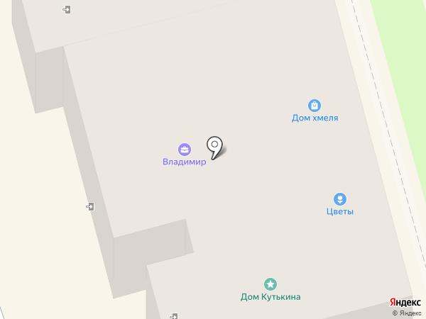 Владимир на карте Суздаля