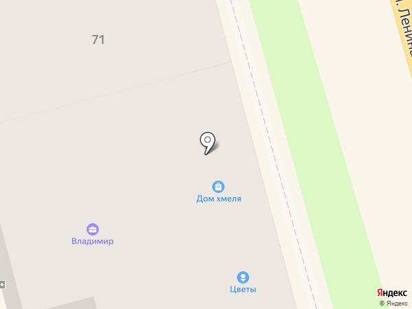 Дом хмеля на карте Суздаля
