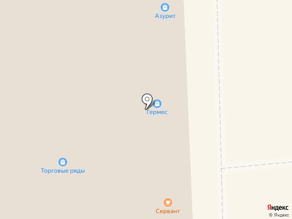 Юлия на карте Суздаля