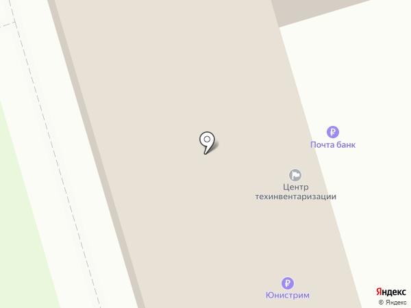 Отделение почтовой связи №3 на карте Суздаля