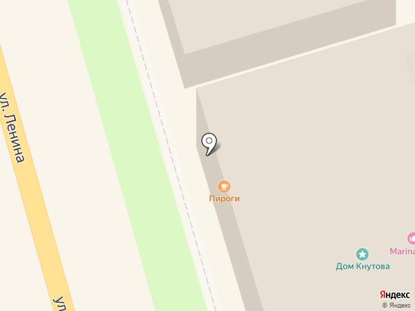 Самоварная на карте Суздаля