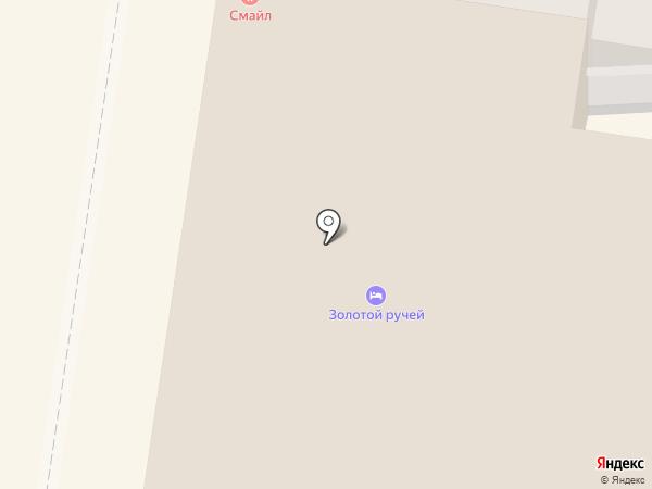 Золотой ручей на карте Суздаля