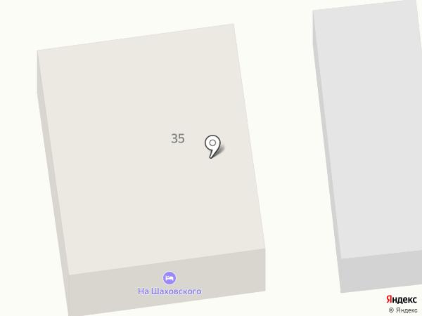 Гостевой дом на Шаховского на карте Суздаля
