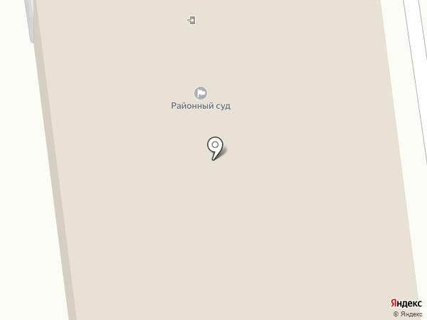 Суздальский районный суд на карте Суздаля