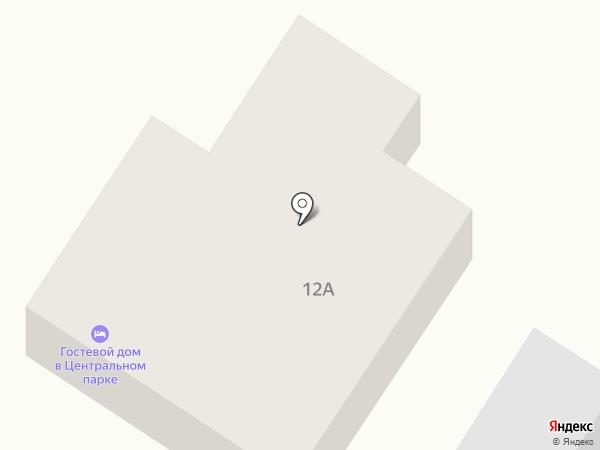 Татьяна на карте Суздаля