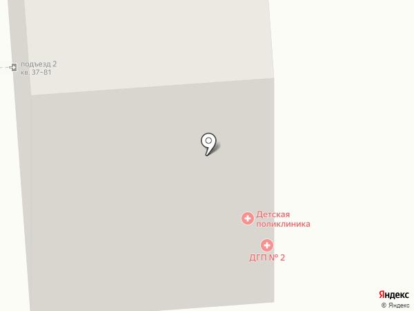 Детская городская поликлиника №2 на карте Владимира