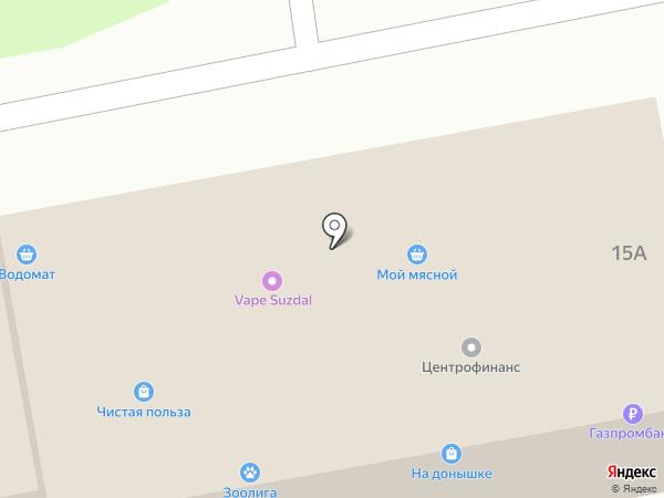 МОЁ на карте Суздаля