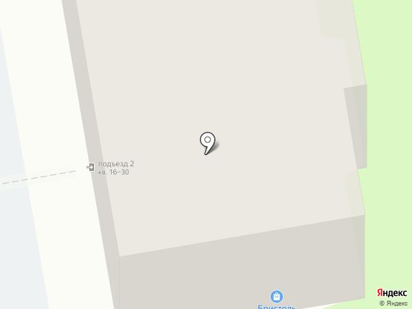 Бристоль на карте Суздаля