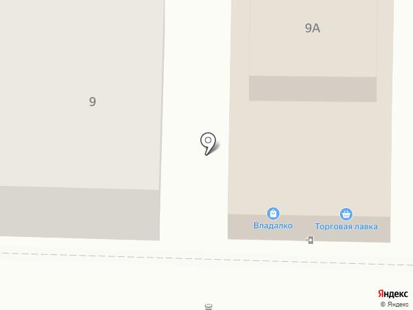 Торговая лавка на карте Суздаля