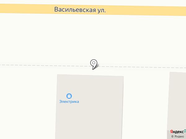 Магазин электротехнической продукции на карте Суздаля