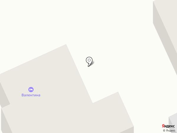 Валентина на карте Суздаля