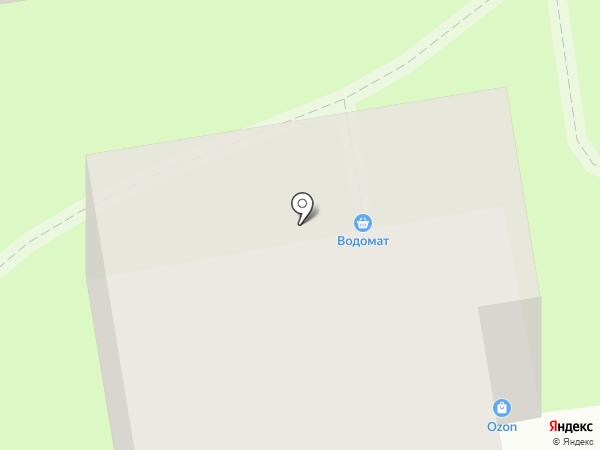 Март на карте Суздаля