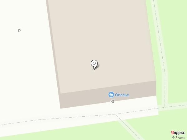 Телец на карте Суздаля