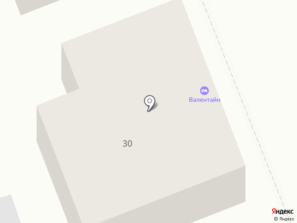 Валентайн на карте Суздаля
