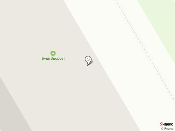Будь Здоров на карте Владимира