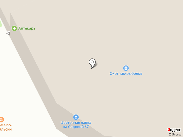Аптекарь на карте Суздаля
