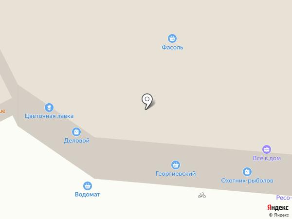 Охотник-рыболов на карте Суздаля