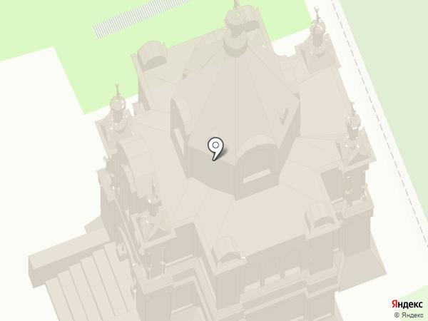 Церковь Александра Невского на карте Суздаля