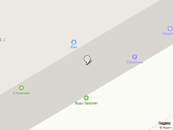 Рич на карте Владимира