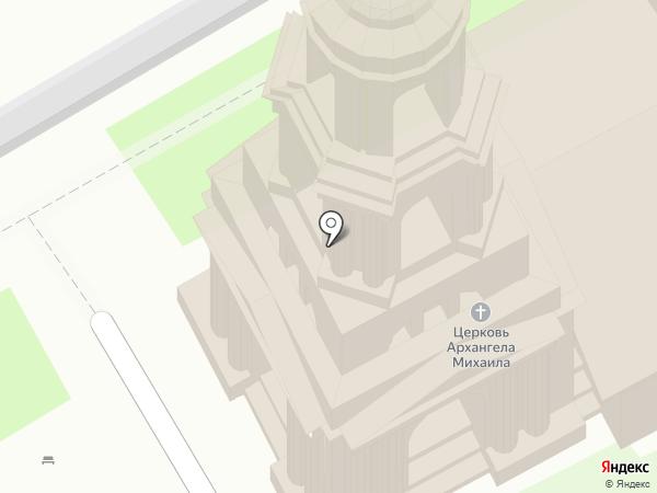 Михаило-Архангельский храм на карте Суздаля