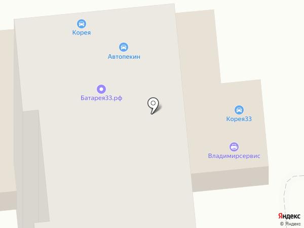 Японец на карте Владимира