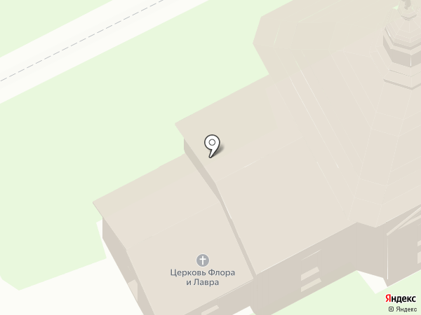 Церковь Флора и Лавра на карте Суздаля
