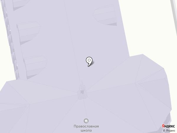 Православная средняя общеобразовательная школа имени святителя Арсения Элассонского на карте Суздаля