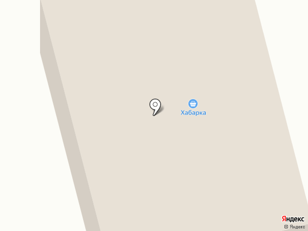 Хабарка на карте Архангельска
