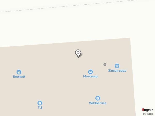 Верный на карте Владимира