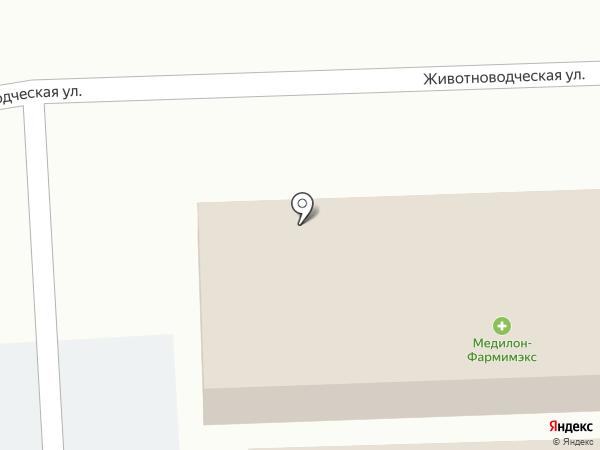 Магазин товаров для дома на карте Павловского