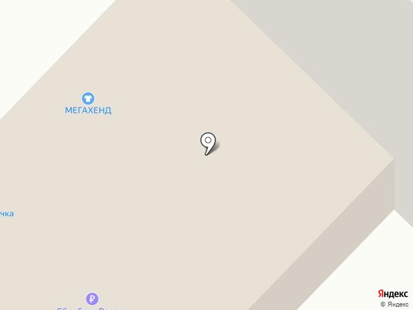 Пироговая на карте Владимира