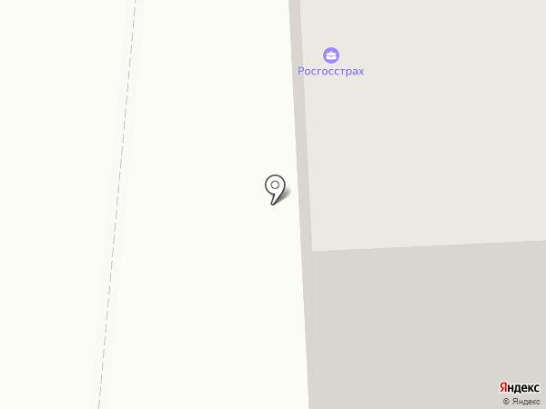 Тили-тесто на карте Архангельска
