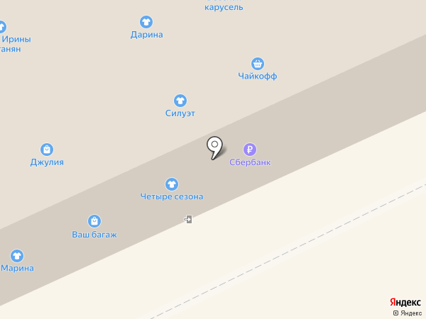 Дамский на карте Архангельска