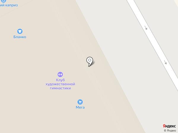 Феерия на карте Архангельска