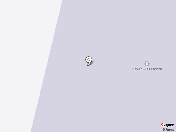Заостровская начальная общеобразовательная школа на карте Большого Анисимово