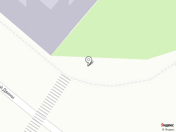 Архангельская школа развития на карте Архангельска