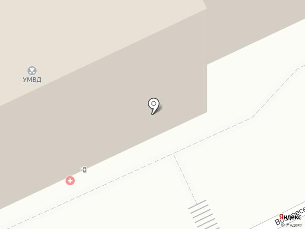 Экспертно-криминалистический центр на карте Архангельска