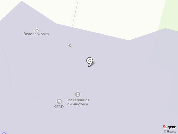 Издательство на карте Архангельска