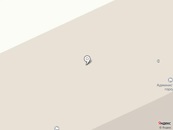 Муниципально-правовой департамент Мэрии г. Архангельска на карте Архангельска