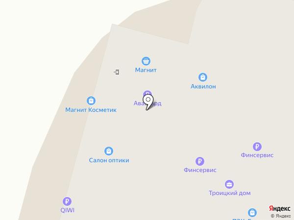 Оптика СК на карте Архангельска