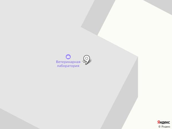 Архангельская областная ветеринарная лаборатория на карте Архангельска