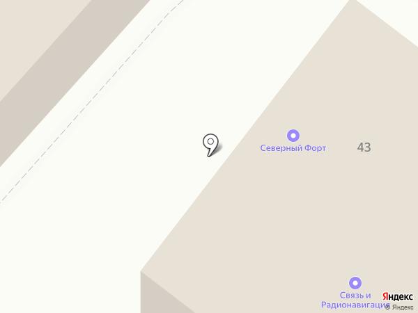 Openarh.ru на карте Архангельска
