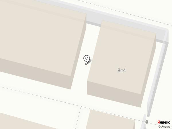 Магазин мяса на карте Архангельска