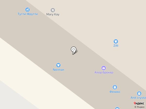 Тутти-Фрутти на карте Архангельска