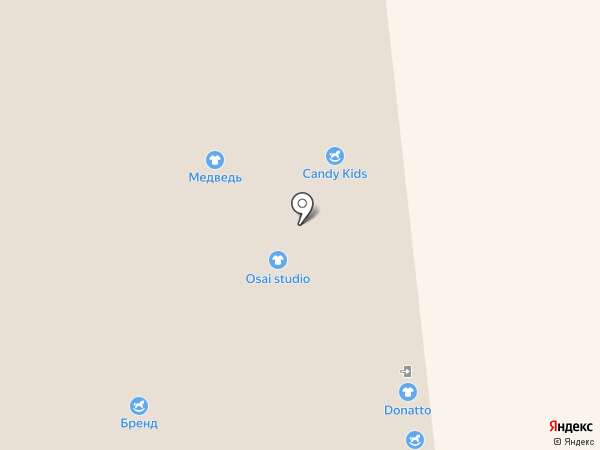 Швейная мастерская на карте Архангельска