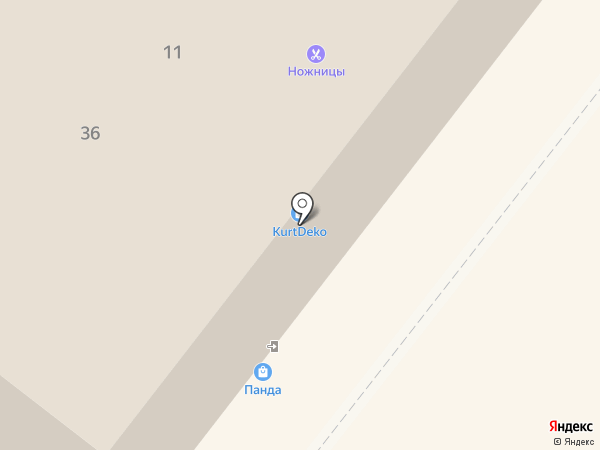 Нуга Бест на карте Архангельска