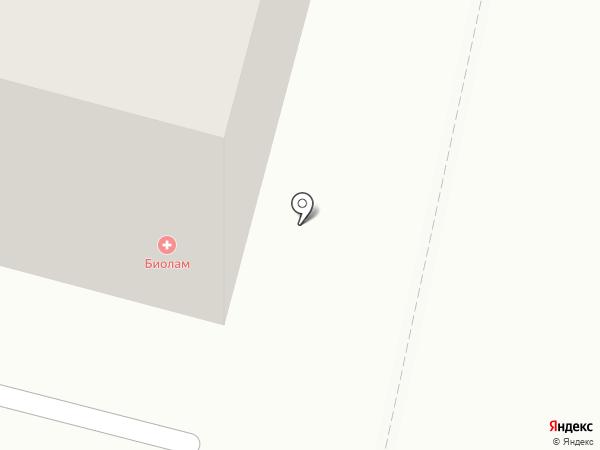 Биолам на карте Архангельска
